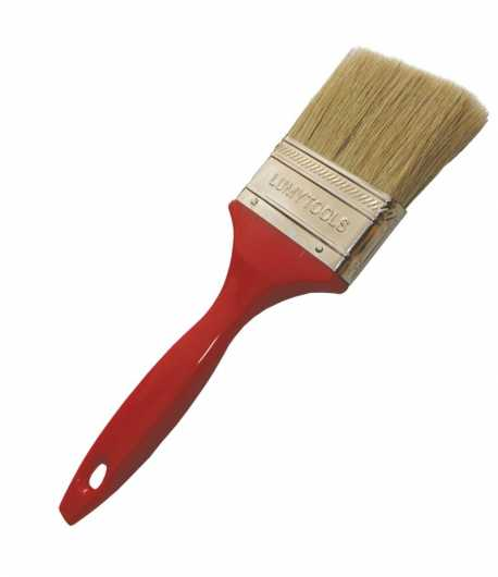 Paint brush, PVC handle LT09543