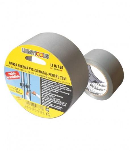 Banda adeziva PVC cu striatii, pentru tevi LT07780