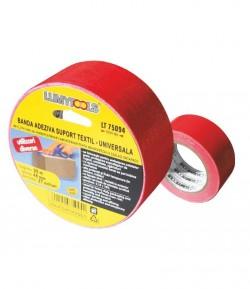 Banda adeziva, suport textil - universala LT75094