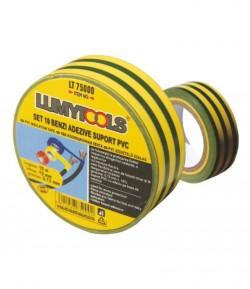 Set 10 benzi adezive, suport PVC LT75000