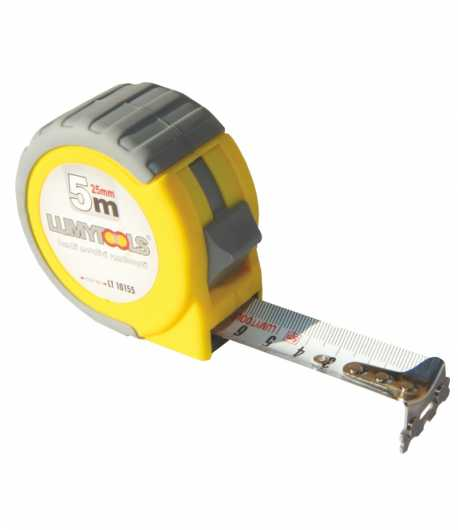 Measuring tape with reinforced band LT10155