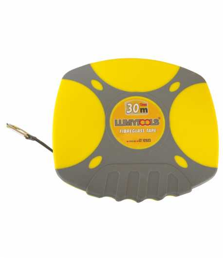 Measuring tape with fiberglass band LT12523