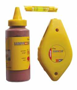 Set of chalk line, vial and spare chalk LT17505