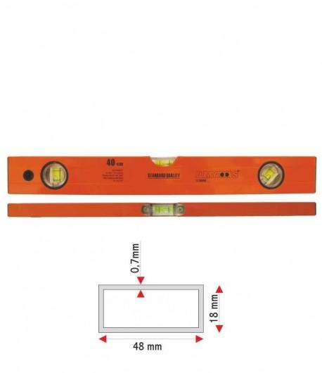 Nivela aluminiu - trei indicatori LT16340