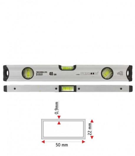 Nivela aluminiu - trei indicatori LT16554