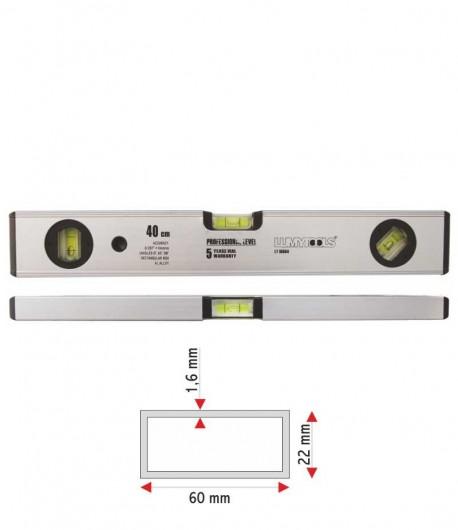 Nivela aluminiu - trei indicatori LT16566