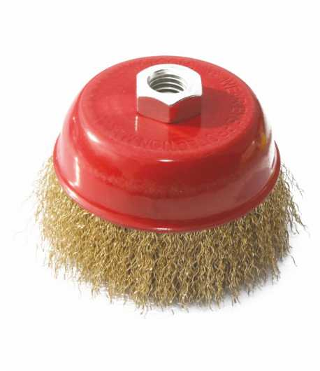 Crimped wire cup brush LT06971