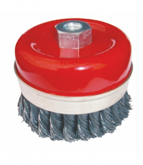 Twisted wire cup brush LT06974