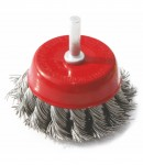 Twisted wire cup brush LT06994