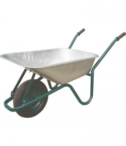 Wheelbarrow galvanized vat 85 liters LT35700
