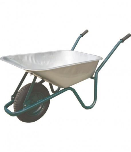 Wheelbarrow galvanized vat 85 liters LT35700