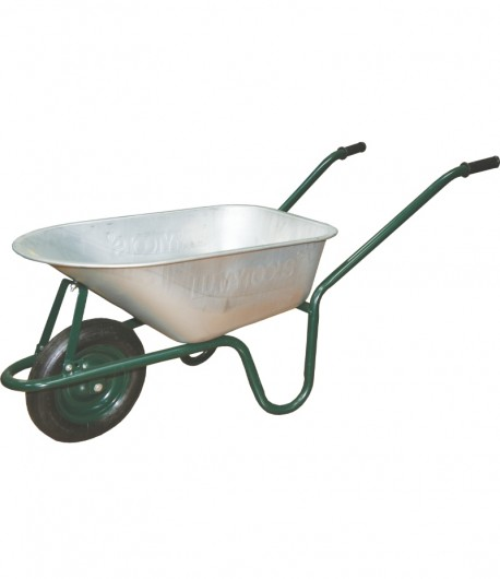 Wheelbarrow galvanized vat 100 liters LT35701