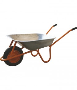 Wheelbarrow galvanized vat 65 liters LT35705
