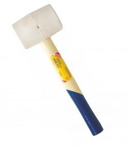 Ciocan din cauciuc, alb 455 gr LT33930