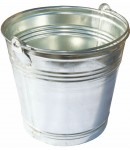 Steel bucket 13 liters LT35763