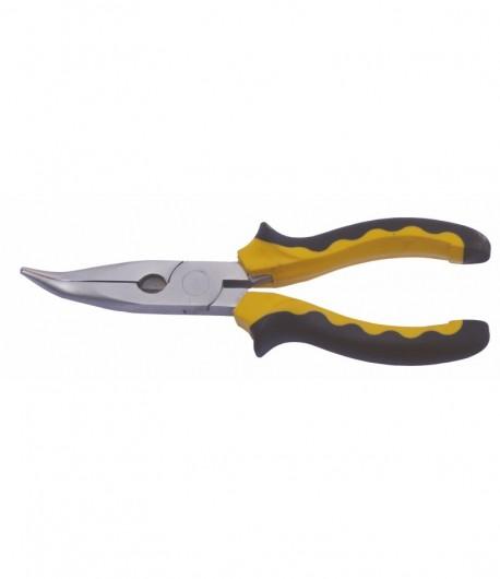 Bent nose pliers 180 mm LT40051