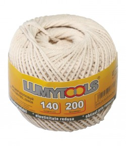 Cotton cable cord - 140 m LT17372