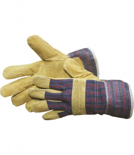 Leather gloves, CE, 10 inch LT74000
