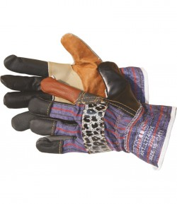 Leather gloves, basic, 10 inch LT74001