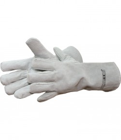Leather gloves, 350 mm LT74010