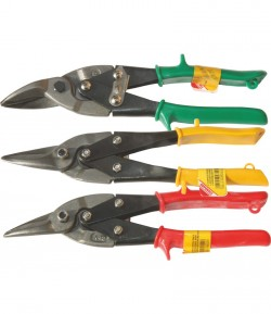 3 pcs aviation tin snips set 250 mm LT48330