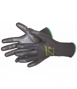 Nylon - polyurethane knitted gloves, CE, 10 inch LT74070