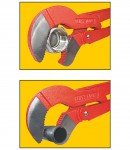 """""""S"""" type adjustable pipe wrench 1 inch LT55090"""