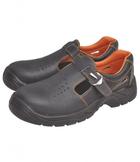 Sandale de protectie cu bombeu metalic, CE, marimea 42 LT74562