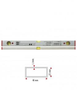 Nivela aluminiu - trei indicatori 800 mm LT16408