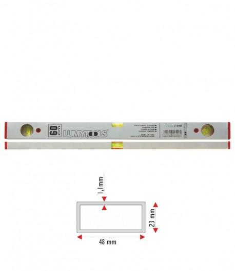 Aluminium level - 3 vials 800 mm LT16408
