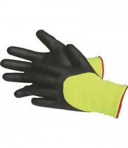 Foam nitrile protection glove, CE LT74139