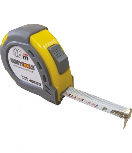 Measuring tape with reinforced band LT10140