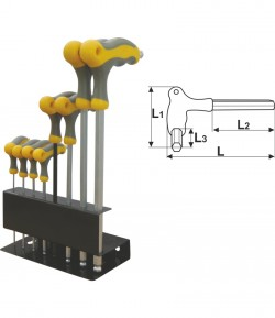 8 pcs T-type hex key set LT56517