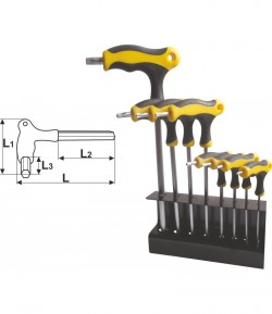 8 pcs T-type torx key set LT56519