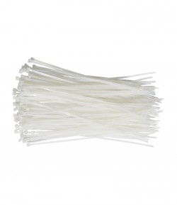 White cable ties, nylon LT73881