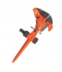 Impulse sprinkler with spike LT36750