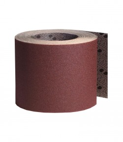 Textile support abrasive roll LT08006
