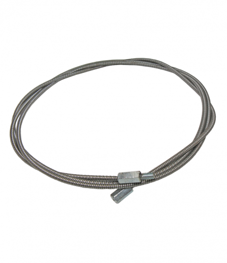Cablu metalic pentru curatat cosuri, 4 m, Φ 10 mm, cu filet, fara perie, LT55884