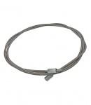 Cablu metalic pentru curatat cosuri, 7 m, Φ 10 mm, cu filet, fara perie, LT55887