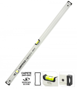 Nivela aluminiu PRO - doi indicatori LT17606