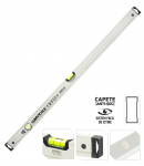 Nivela aluminiu PRO - doi indicatori, cu magnet LT17626