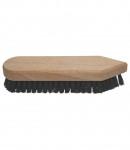 Perie pentru lustruit, 18 cm, montura lemn, LT35625