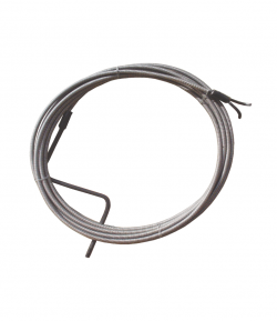 Sarpe tevi, 10 m x 6 mm, varf tip arc, LT55867
