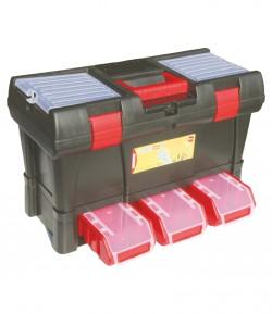 Cutie scule PVC cu organizatoare LT78806