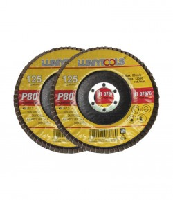 2 pcs velcro discs set, for sanding, 180 mm,  P60, LT07995