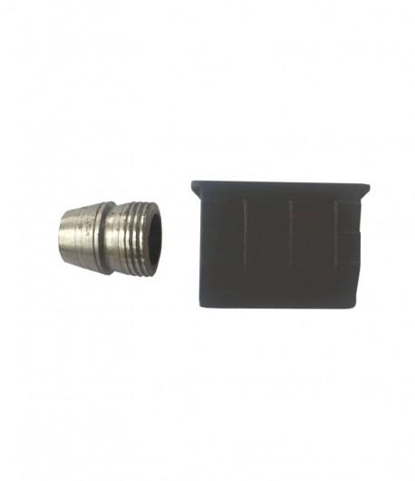 Set pana PVC și metal pentru sapa, 41x32 mm, Φ 14 mm, 16 mm LT36142