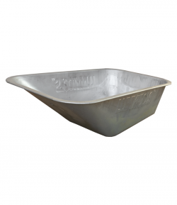 Wheelbarrow galvanized vat, LT09163