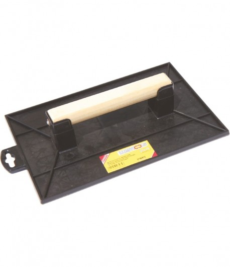 Plastic float with wooden handle LT06475
