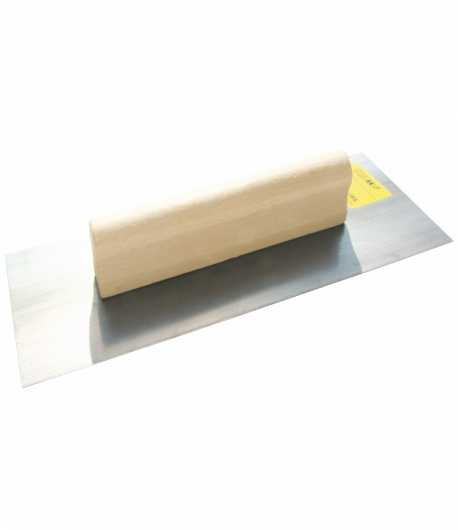 Steel trowel with wooden handle LT06713
