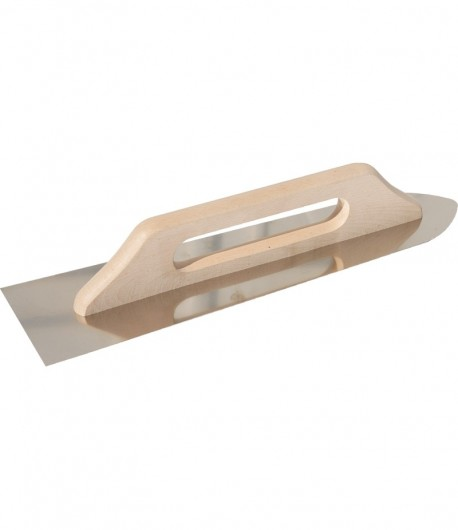 Stainless steel trowel with wooden handle LT06566